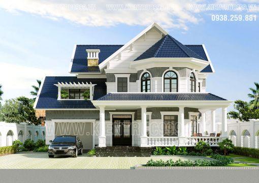 Hình ảnh những thiết kế biệt thự đẹp - Mẫu 2