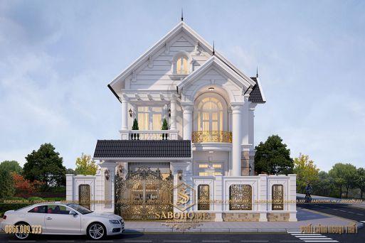 Hình ảnh những thiết kế biệt thự đẹp - Mẫu 8