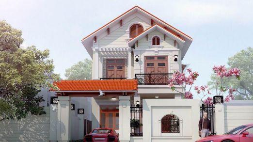 Tuyển chọn những thiết kế nhà 2 tầng đẹp nhất - Mẫu 4