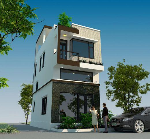 Tuyển chọn những thiết kế nhà 2 tầng đẹp nhất - Mẫu 7