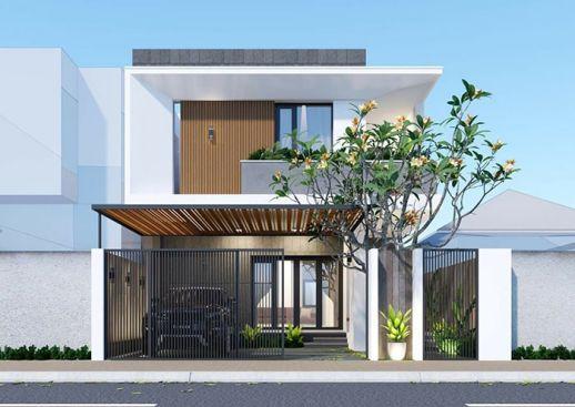 Tuyển chọn những thiết kế nhà 2 tầng đẹp nhất - Mẫu 8