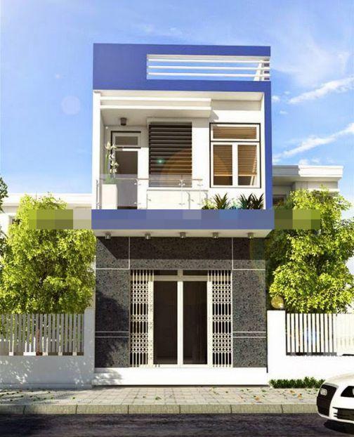 Thiết kế nhà 2 tầng đẹp ở nông thôn chỉ với 300 triệu - Hình 1