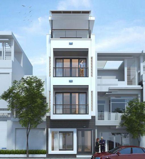 Bộ sưu tập những thiết kế nhà 3 tầng đẹp nhất - Mẫu 1