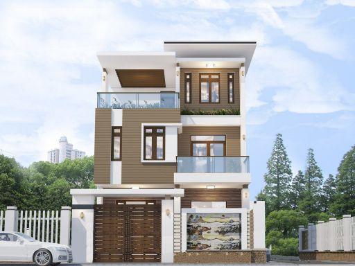 Bộ sưu tập những thiết kế nhà 3 tầng đẹp nhất - Mẫu 2