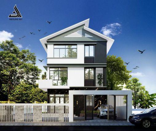 Bộ sưu tập những thiết kế nhà 3 tầng đẹp nhất - Mẫu 8
