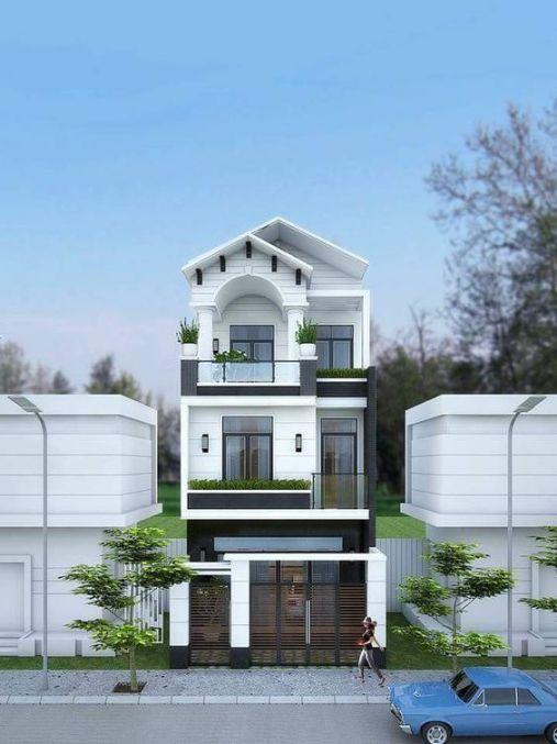 Bộ sưu tập những thiết kế nhà 3 tầng đẹp nhất - Mẫu 10