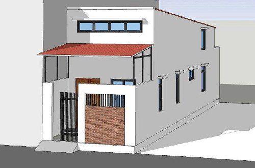 Thiết kế nhà cấp 4 có gác lửng hiện đại diện tích 30m2