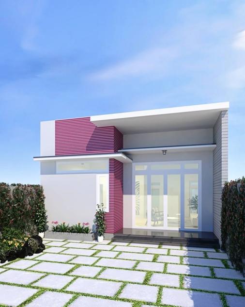 Chỉ với chi phí 200 triệu, bạn hoàn toàn có thể sở hữu ngay cho mình mẫu nhà cấp 4 phong cách hiện đại thịnh hành.