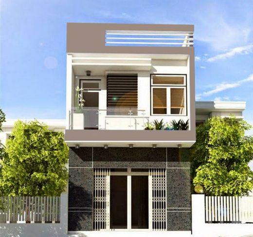 Xu hướng các thiết kế nhà phố đẹp - Mẫu 2