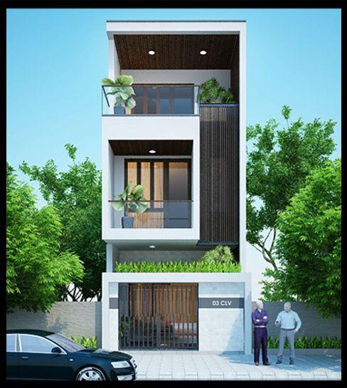 Xu hướng các thiết kế nhà phố đẹp - Mẫu 3