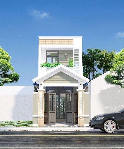 Xu hướng các thiết kế nhà phố đẹp - Mẫu 4
