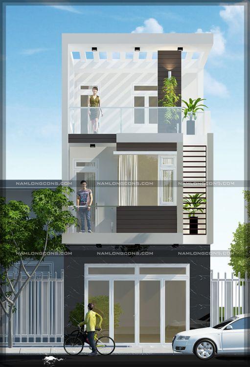 Xu hướng các thiết kế nhà phố đẹp - Mẫu 5