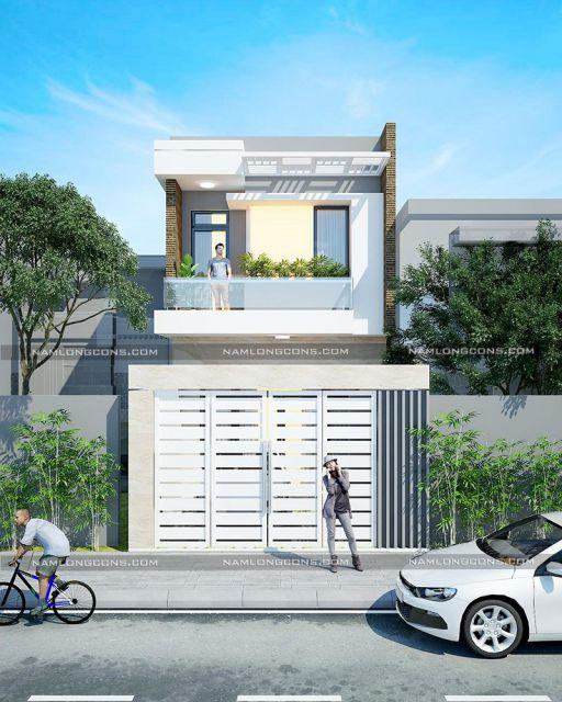 Xu hướng các thiết kế nhà phố đẹp - Mẫu 6