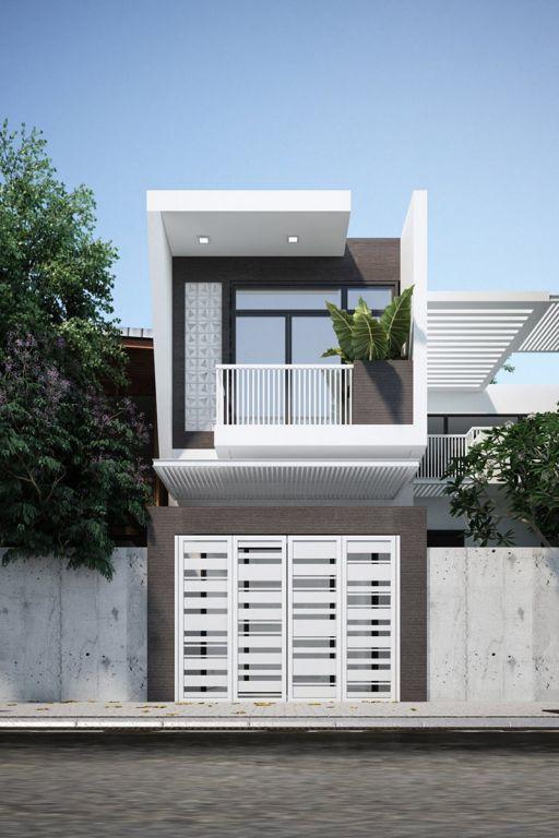 Xu hướng các thiết kế nhà phố đẹp - Mẫu 7