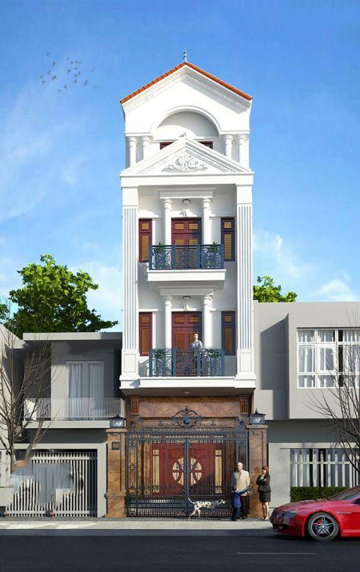 Xu hướng các thiết kế nhà phố đẹp - Mẫu 10