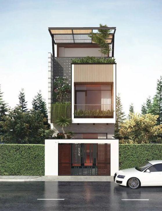 Xu hướng kiến trúc nhà phố 3 tầng đẹp nhất