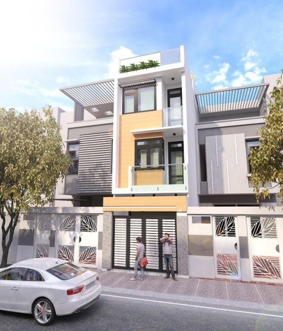 Xu hướng kiến trúc nhà phố mặt tiền 4m