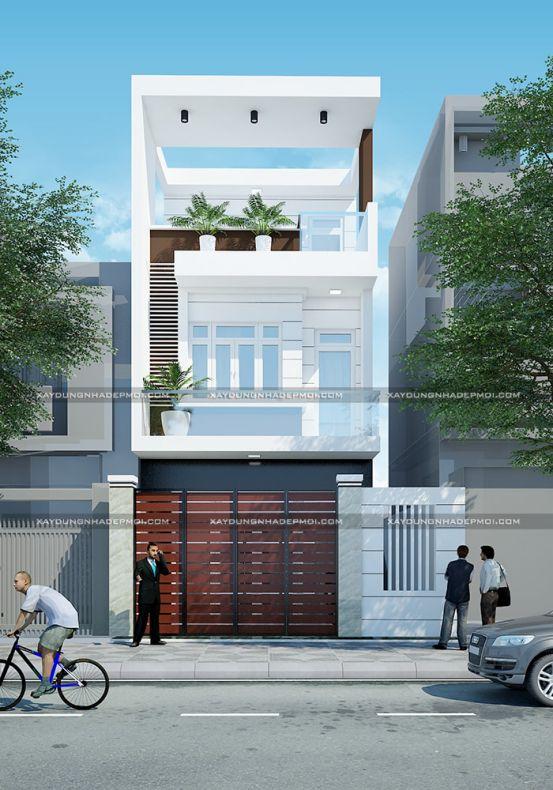 Xu hướng kiến trúc nhà phố mặt tiền 6m