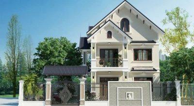Xây dựng căn nhà 2 tầng phong cách mái thái 300 triệu