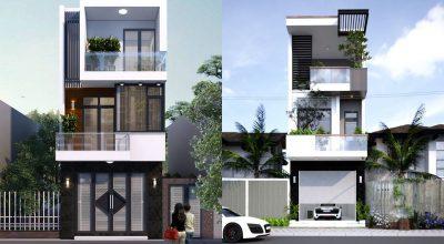 Mẫu thiết kế mặt tiền nhà phố đẹp nhất hiện nay
