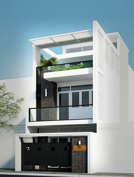 Xu hướng thiết kế nhà 2 tầng 1 tum đẹp nhất hiện nay