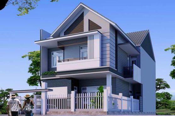 Xu hướng thiết kế nhà 2 tầng chi phí xây dựng 700 triệu đồng