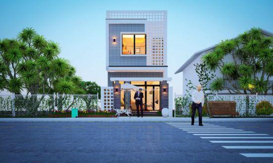 Xu hướng thiết kế nhà 2 tầng 50m2