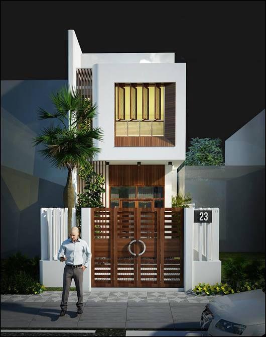 Xu hướng thiết kế nhà 2 tầng 60m2