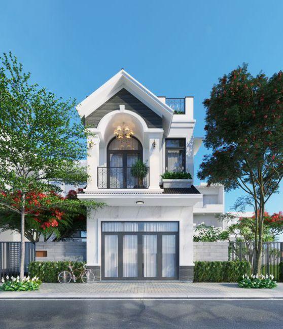 Xu hướng thiết kế nhà 2 tầng mái thái đẹp nhất hiện nay