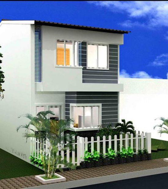 Xu hướng thiết kế nhà 2 tầng mái tôn giá rẻ đẹp nhất hiện nay