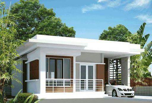 Tuyển chọn 3 mẫu thiết kế nhà cấp 4 mái bằng có 2 phòng ngủ - Hình 2