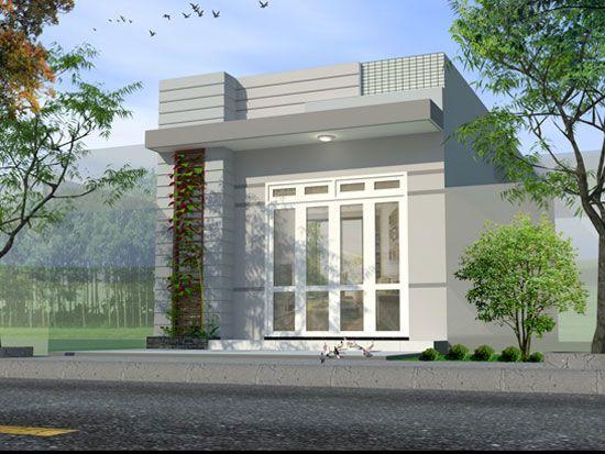 Xu hướng thiết kế nhà cấp 4 mái bằng lợp tôn đẹp - Hình 1