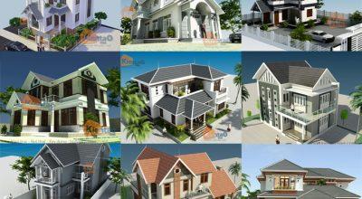 Tuyển chọn những mẫu thiết kế nhà đẹp phong cách hiện đại trong năm nay