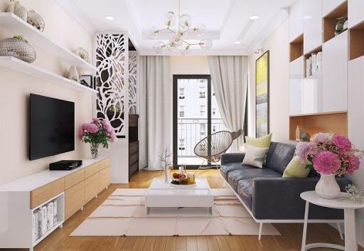 Mẫu thiết kế phòng khách dành cho căn căn hộ chung cư - Hình 2