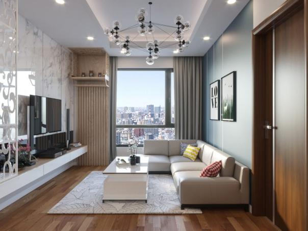 Mẫu thiết kế phòng khách dành cho căn căn hộ chung cư - Hình 3