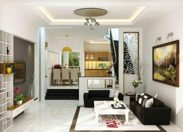 Mẫu thiết kế phòng khách dành cho căn nhà cấp 4 đẹp - Hình 2