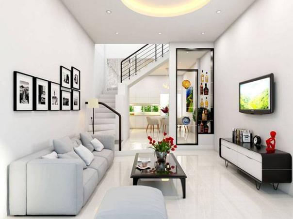 Mẫu thiết kế phòng khách dành cho căn nhà nhỏ xinh - Hình 1