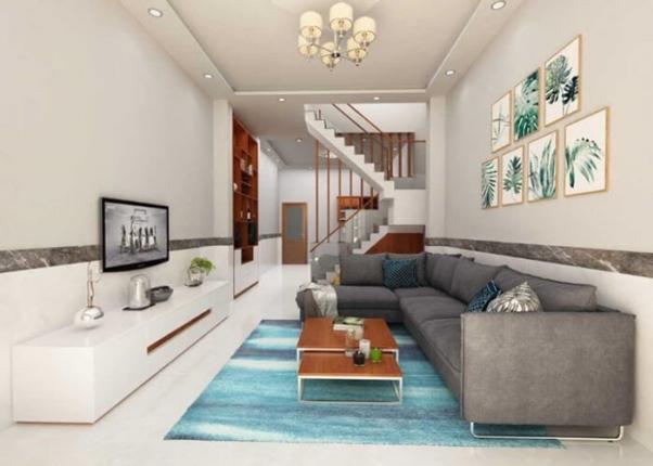 Mẫu thiết kế phòng khách dành cho căn nhà nhỏ xinh - Hình 2