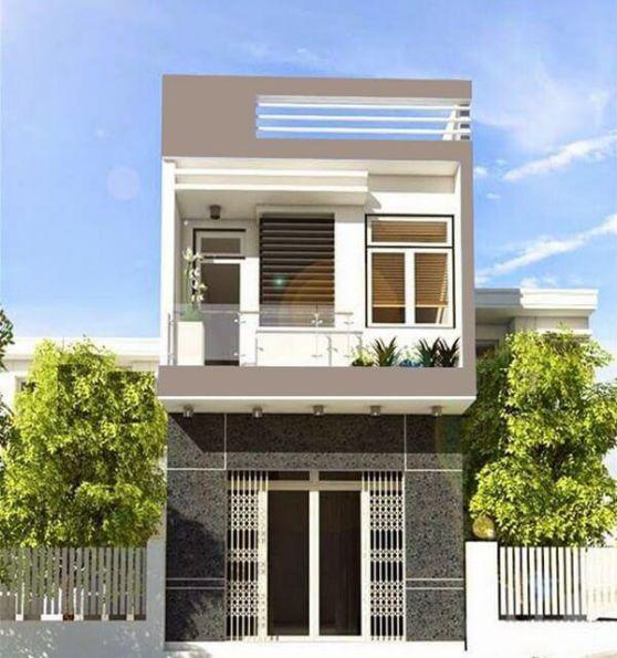 Mẫu thiết kế nhà 1 trệt 1 lầu giá rẻ 400 triệu đồng