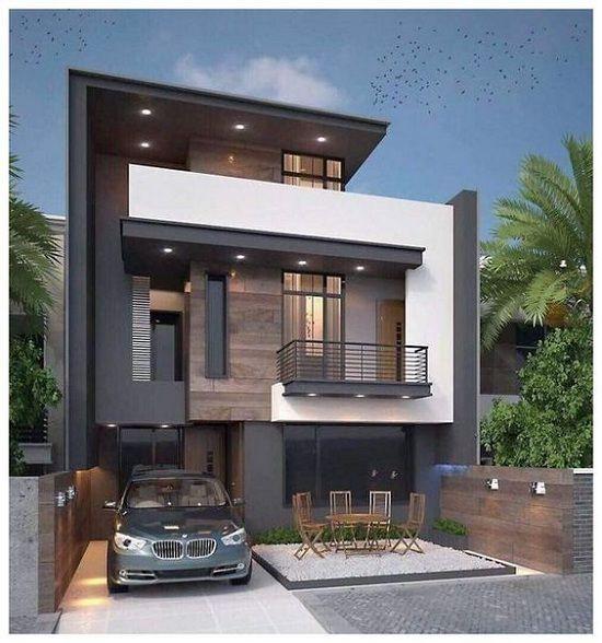 Mẫu thiết kế nhà 1 trệt 1 lầu diện tích 6x15m