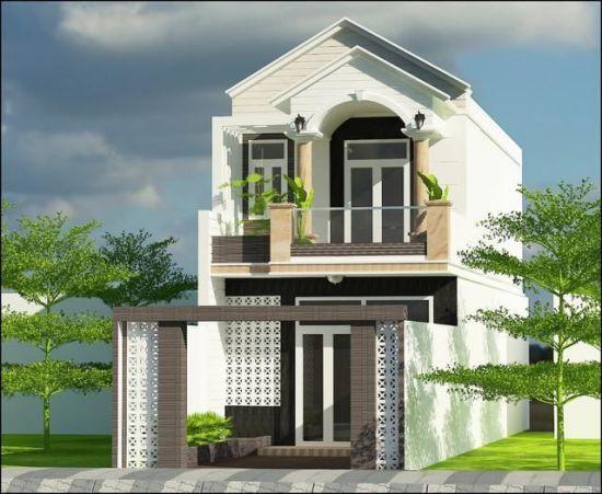 Mẫu thiết kế nhà 1 trệt 1 lầu giá rẻ 700 triệu đồng