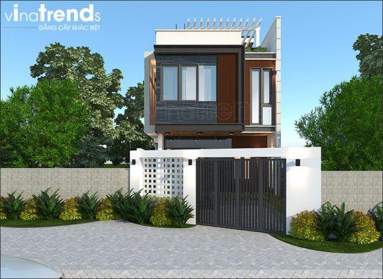 Mẫu thiết kế nhà 1 trệt 1 lầu diện tích 7x12m