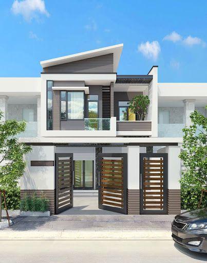 Mẫu thiết kế nhà 1 trệt 1 lầu giá rẻ 800 triệu đồng