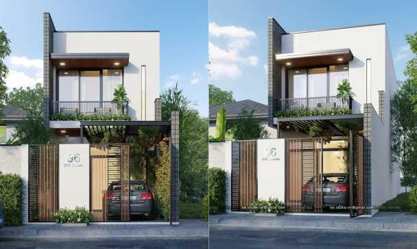 Tuyển chọn những mẫu nhà 2 tầng đẹp nhất hiện nay