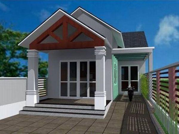 Mẫu thiết kế nhà cấp 4 đẹp 3 phòng ngủ khoảng 300 triệu