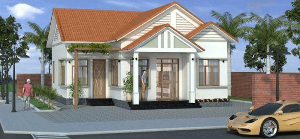 Mẫu thiết kế nhà cấp 4 đẹp 3 phòng ngủ diện tích 8x15m2