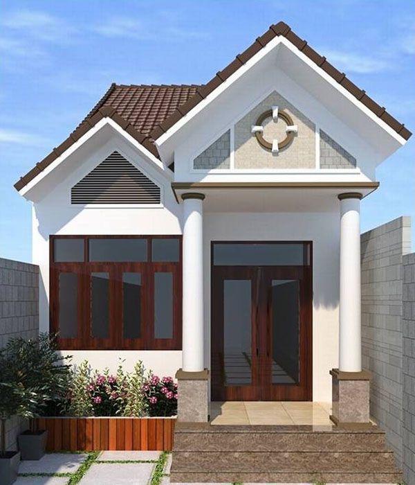 Thiết kế nhà ở cấp 4 mới 5x20m 2 phòng ngủ đẹp - Hình 2