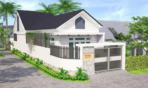 Thiết kế nhà ở cấp 4 mới 5x20m 3 phòng ngủ đẹp - Hình 5