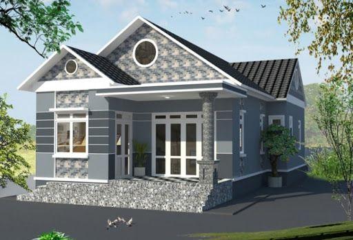 Thiết kế nhà ở cấp 4 mới 5x20m có gác lửng đẹp - Hình 3