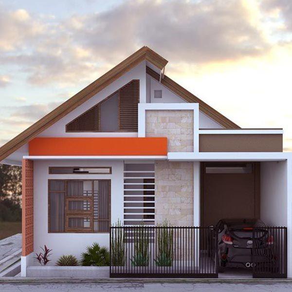 Thiết kế nhà ở cấp 4 mới 5x20m có gara đẹp - Hình 4